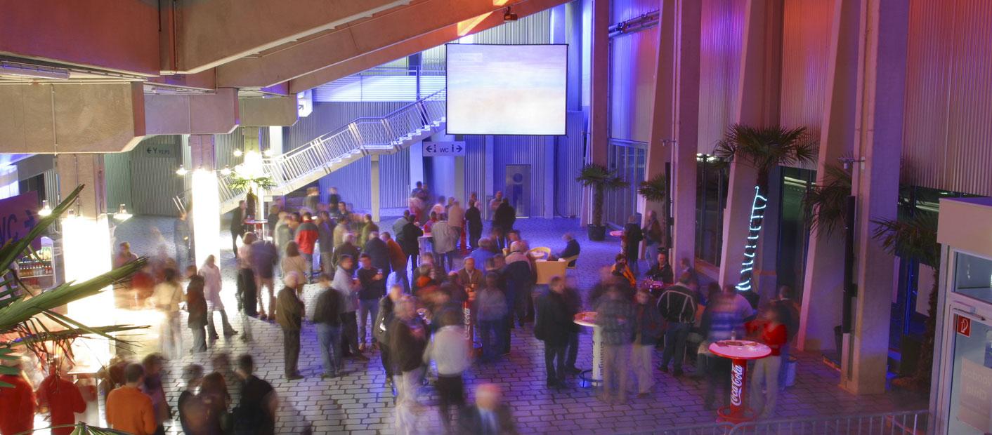 Veranstaltung in Halle 1 der ZF Arena Das ...