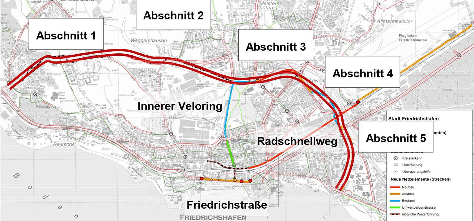 Stadt Friedrichshafen Veloring